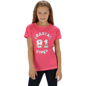 Regatta Bosley T-Shirt Kids hot pink